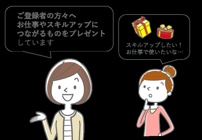 プレゼント企画の説明