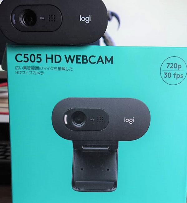 当選したWebカメラ